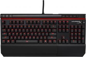 Геймърска клавиатура Kingston HyperX  Alloy Elite, Cherry MX Red, Черна (HX-KB2RD1-US/R2)