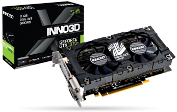 Видео карта Inno3D GeForce GTX 1070Ti X2 V2 8GB GDDR5 (N107T-2SDN-P5DS)
