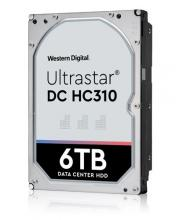 "Твърд диск Western Digital 6TB Ultrastar DC HC310 3.5""  256MB (5 years warranty)"