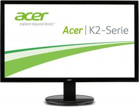 "Монитор Acer K242HLbd, 24"" LED, Full HD (1920x1080), Черен (UM.FW3EE.001)"