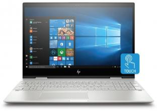 "Лаптоп HP ENVY x360 15-cn0007nn (4FQ20EA) 15.6"" FHD IPS Touch, i5-8250U, 8GB RAM, 16GB SSD, 1TB HDD, GF MX150, Win 10, Сребрист"