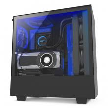 Кутия NZXT H500i Smart Matte Mid-Tower Black