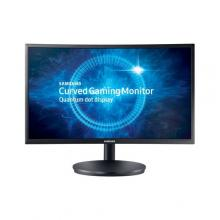 "Геймърски монитор Samsung C24FG73FQUX Curved 23.5"" LED, Full HD (1920x1080), 144Hz, 1ms, Quantum Dot, Черен"