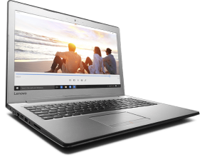 "Лаптоп Lenovo IdeaPad 510 (80SV00U6BM) 15.6"" IPS FHD,  Intel Core i7-7500U, 8GB DDR4, 256GB SSD, GF 940MX 4GB, Сребрист"