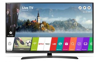 "Телевизор LG 65UJ634V, 65"" LED TV 4K 3840x2160, Wi-Fi, webOS 3.5 Smart TV, Сив"