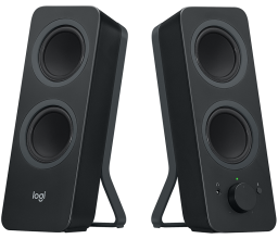 Bluetooth тонколони Logitech Z207 Speakers - Черни