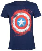 Marvel Captain America Shield Тениска Bioworld, размер XXL
