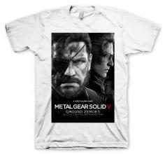 Тениска GAYA METAL GEAR SOLID 5: GROUND ZEROES, размер XL