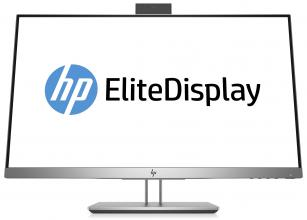 "Монитор HP Elite Display E243d, 23.8"" FHD (1920 x 1080) Сребрист (1TJ76AA)"