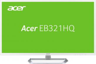 "Acer EB321HQwd, 31.5"" IPS, FHD (1920x1080), 4ms, Бял (UM.JE1EE.005)"
