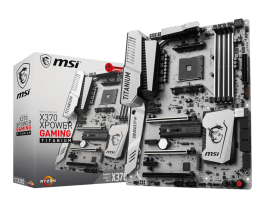 Дънна платка MSI X370 XPOWER GAMING Titanium