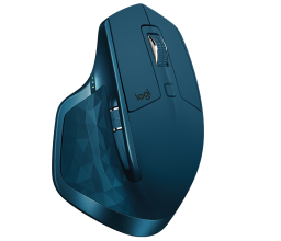 Безжична мишка Logitech MX Master 2S Wireless Mouse, Син
