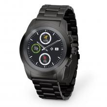 Хибриден смарт часовник MyKronoz ZeTime Elite Regular, Черен (KRON-ZETIME-REG-ELITE-BLACK)