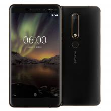 "Nokia 6.1 5.5"" FHD (1080 x 1920), (2018), 32 GB, Single SIM, Черен"