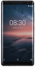 "Смартфон Nokia 8 Sirocco (2018) 5.5"" P-OLED QHD, 128GB, Single SIM, Черен"