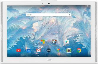"Таблет Acer Iconia One 10, B3-A42-K8B6, 10.1"" IPS WXGA(1280x800), 16GB, Бял (NT.LETEE.008)"