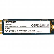 SSD диск Patriot Scorch 512GB M.2 PCIe PS512GPM280SSDR
