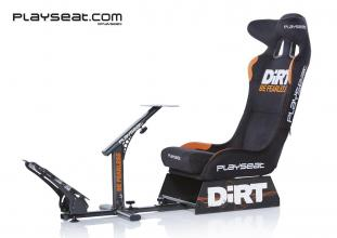 Геймърски стол Playseat Dirt, Черен Alcantara (PLAYSEAT-RC-DIRT)