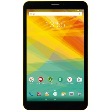"Таблет Prestigio Wize 3418 4G, 8.0"" (800x1280)IPS, Single SIM, 8GB, Жълт"