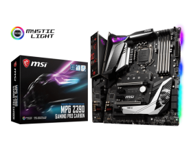 Дънна платка MSI MPG Z390 GAMING PRO CARBON s.1151