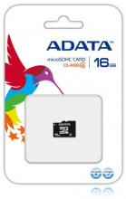 Карта памет A-DATA 16GB Micro SD Class 4