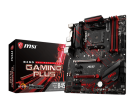 Дънна платка MSI B450 GAMING PLUS AM4
