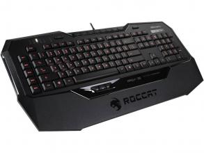 Геймърска клавиатура ROCCAT Isku+ Force FX RGB LED, Черна (ROC-12-822)