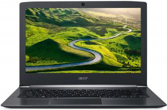 "UPGRADED Acer Aspire S13 S5-371-50GS (NX.GHXEX.019) 13.3"" IPS FHD, i5-7200U, 8GB RAM, 512GB SSD, Черен"
