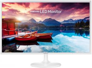 "Монитор Samsung S32F351FUU, 31.5"" VA LED, Full HD, Бял"