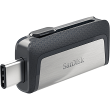 SanDisk Ultra Dual Drive for Android USB Type-C 16GB, USB 3.1, 130 MB/s Флаш памет