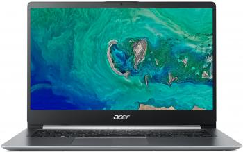 "Лаптоп Acer Aspire Swift 1 SF114-32-P19M (NX.GXUEX.001) 14"" FHD IPS, Pentium N5000, 4GB RAM, 128GB SSD, Win 10, Сребрист"