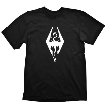 Тениска GAYA THE ELDER SCROLLS V: SKYRIM DRAGON SYMBOL, размер XXL