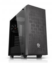 Компютърна кутия Thermaltake Core G21 TG, Черна (THER-CASE-CA-1I4-00M1W N-00)