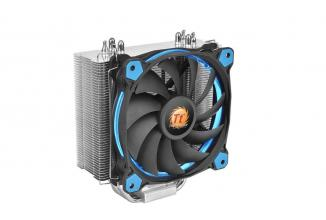 Охладител за процесор Thermaltake Riing Silent 12 Blue LED (THER-FAN-CL-P022-AL12BU-A)