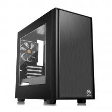 Компютърна кутия Thermaltake Versa H17 Window, Черна (THER-CASE-CA-1J1-00S1WN-00)