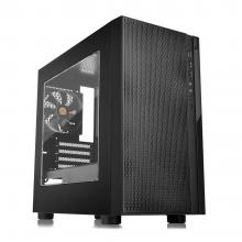 Компютърна кутия Thermaltake Versa H18 Window, Черна (THER-CASE-CA-1J4-00S1WN-00)