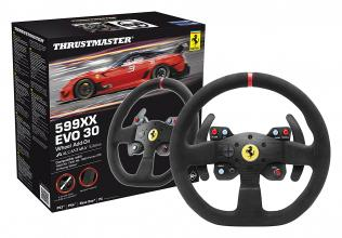 Волан Thrustmaster 599XX EVO 30 Add-On за PC/PS3/PS4/Xbox One, Черен