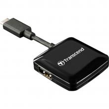 Четец за карти Transcend USB2.0 OTG Reader, Type C