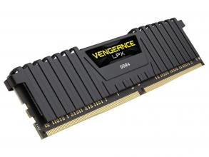 Corsair Vengeance® LPX 8GB DDR4 2400MHz Black Heat spreader