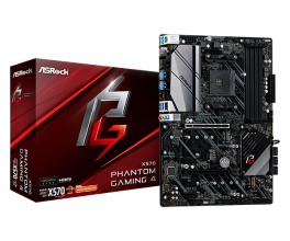 Дънна платка ASROCK X570 Phantom Gaming 4 AM4