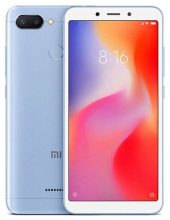 "Xiaomi Redmi 6 5.45"" HD+(720 x 1440), 64GB, Син MZB6605EU"