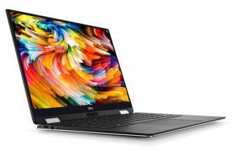 "Dell XPS 13 9365 (5397064033804) 13.3"" Touch FHD, i7-7Y75, RAM 8GB, 256GB SSD, Win 10, Сив"
