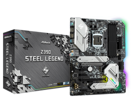 Дънна платка ASROCK Z390 Steel Legend Socket 1151