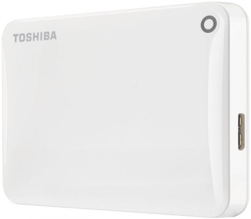 Твърд диск Toshiba Canvio Connect II 500GB white