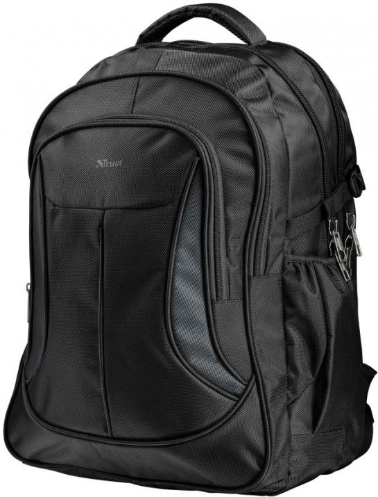 "Trust Раница с много джобове Lima Backpack for 16"" laptops, Черна (22325)"