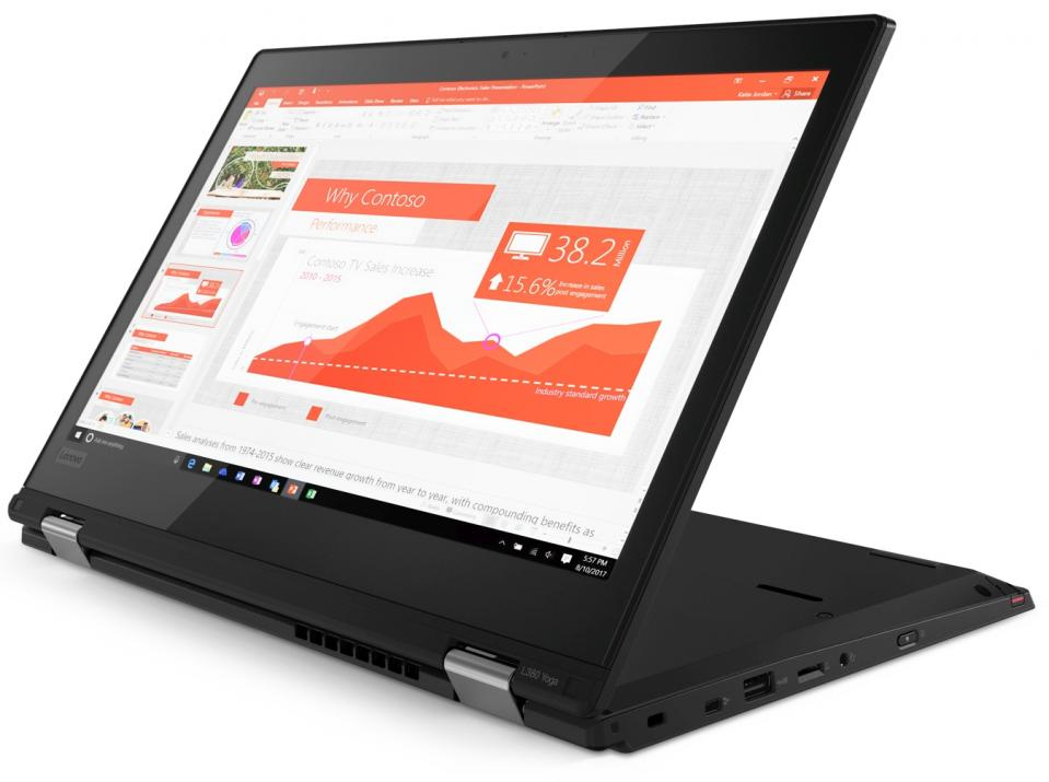 "Lenovo ThinkPad L380 Yoga (20M7001JBM) 13.3"" Touch FHD IPS, i7-8550U, 8GB RAM, 512GB SSD, Win 10 Pro"