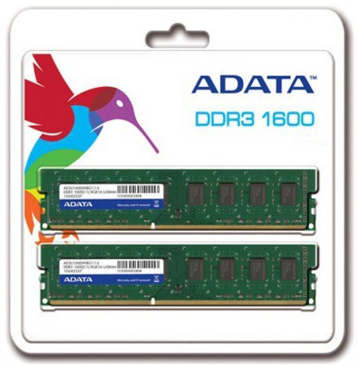 ADATA 16GB DDR3 1600MHz Kit