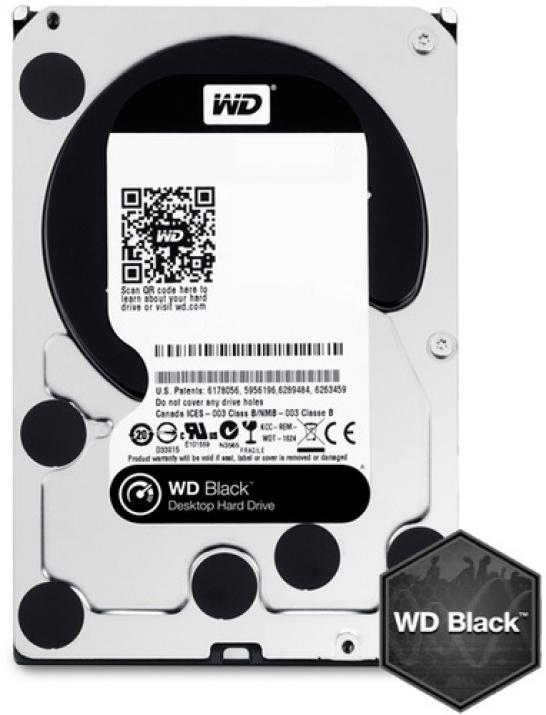 Твърд диск Western Digital 4TB 7200rpm 64MB Black
