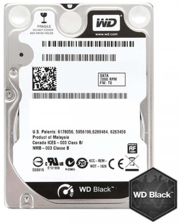 Твърд диск Western Digital 320GB 7200rpm 16MB Black