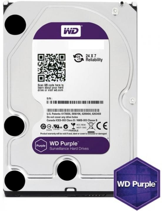 Твърд диск Western Digital 3TB 7200rpm 64MB Purple WD30PURX